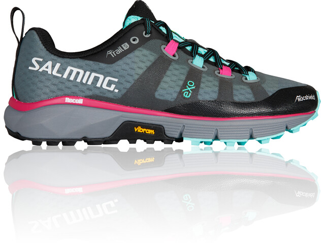 e1a86f21ee7dc Salming Trail 5 - Zapatillas running Mujer - gris negro